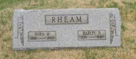 RHEAM, HARLEY D. - Summit County, Ohio | HARLEY D. RHEAM - Ohio Gravestone Photos