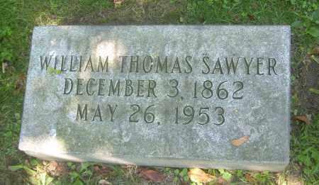 SAWYER, WILLIAM THOMAS - Summit County, Ohio | WILLIAM THOMAS SAWYER - Ohio Gravestone Photos