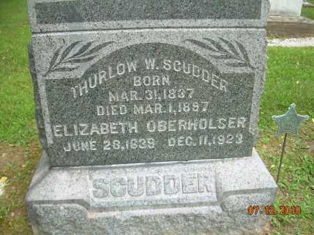 SCUDDER, ELIZABETH - Summit County, Ohio | ELIZABETH SCUDDER - Ohio Gravestone Photos