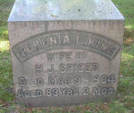 SPICER, CERENIA L - Summit County, Ohio | CERENIA L SPICER - Ohio Gravestone Photos