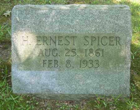 SPICER, H ERNEST - Summit County, Ohio | H ERNEST SPICER - Ohio Gravestone Photos