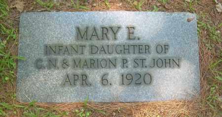 ST JOHN, MARY E - Summit County, Ohio   MARY E ST JOHN - Ohio Gravestone Photos