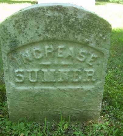 SUMNER, INCREASE - Summit County, Ohio | INCREASE SUMNER - Ohio Gravestone Photos