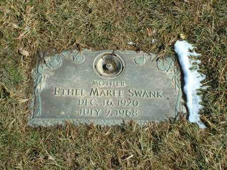 SNYDER SWANK, ETHEL MAREE - Summit County, Ohio | ETHEL MAREE SNYDER SWANK - Ohio Gravestone Photos