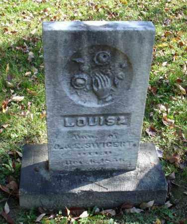 SWIGERT, LOUISA - Summit County, Ohio | LOUISA SWIGERT - Ohio Gravestone Photos