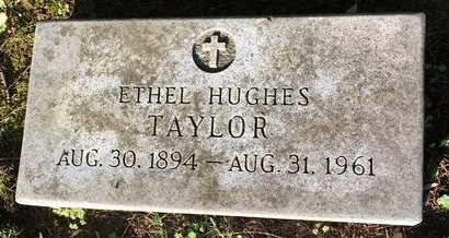 TAYLOR, ETHEL - Summit County, Ohio | ETHEL TAYLOR - Ohio Gravestone Photos