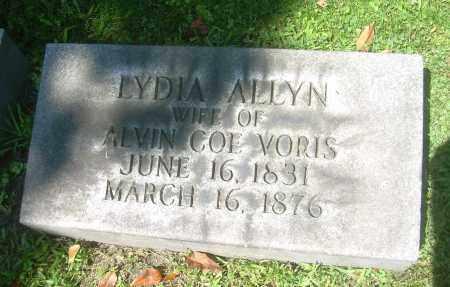 VORIS, LYDIA - Summit County, Ohio   LYDIA VORIS - Ohio Gravestone Photos
