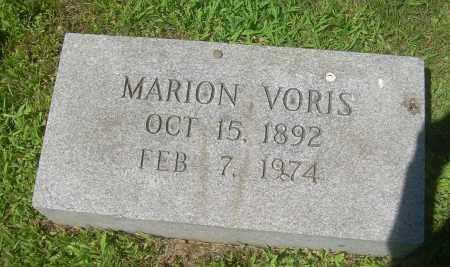 VORIS, MARION - Summit County, Ohio | MARION VORIS - Ohio Gravestone Photos