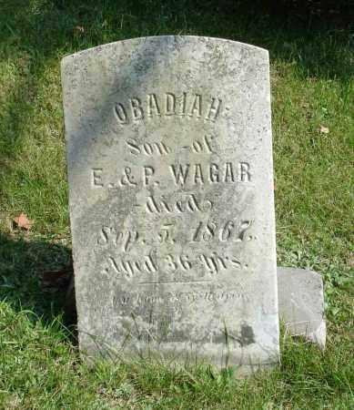 WAGAR, OBADIAH - Summit County, Ohio | OBADIAH WAGAR - Ohio Gravestone Photos