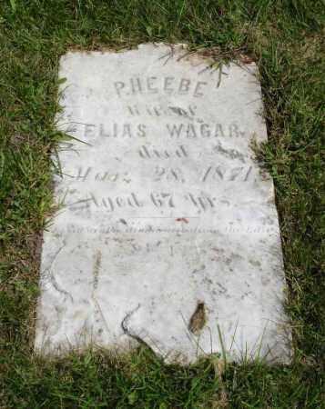 WAGAR, PHEEBE - Summit County, Ohio | PHEEBE WAGAR - Ohio Gravestone Photos