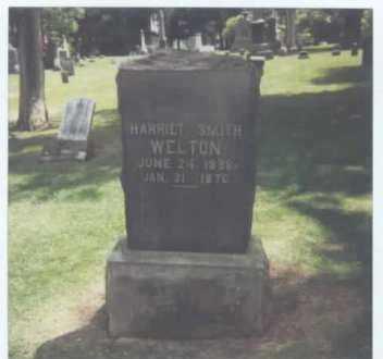 SMITH WELTON, HARRIET A. - Summit County, Ohio | HARRIET A. SMITH WELTON - Ohio Gravestone Photos