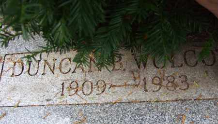 WOLCOTT, DUNCAN BREWSTER - Summit County, Ohio   DUNCAN BREWSTER WOLCOTT - Ohio Gravestone Photos