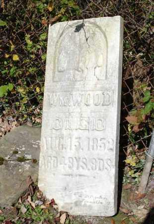 WOOD, WILLIAM - Summit County, Ohio | WILLIAM WOOD - Ohio Gravestone Photos