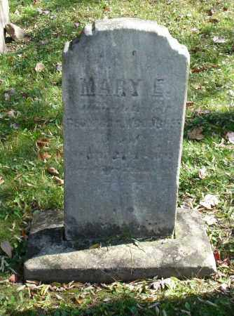 WOODRUFF, MARY E - Summit County, Ohio   MARY E WOODRUFF - Ohio Gravestone Photos