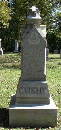 WYCKOFF, LUKE V - Summit County, Ohio   LUKE V WYCKOFF - Ohio Gravestone Photos