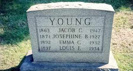 YOUNG, LOUIS E - Summit County, Ohio | LOUIS E YOUNG - Ohio Gravestone Photos
