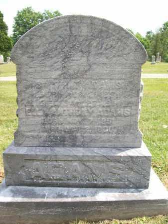 ANTHONY ADAMS, ELLA - Trumbull County, Ohio | ELLA ANTHONY ADAMS - Ohio Gravestone Photos