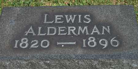 ALDERMAN, LEWIS - Trumbull County, Ohio | LEWIS ALDERMAN - Ohio Gravestone Photos