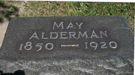 ALDERMAN, MAY - Trumbull County, Ohio   MAY ALDERMAN - Ohio Gravestone Photos