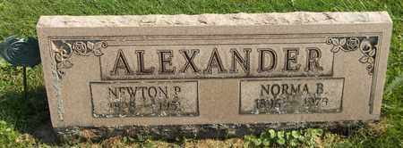 ALEXANDER, NORMA B. - Trumbull County, Ohio | NORMA B. ALEXANDER - Ohio Gravestone Photos