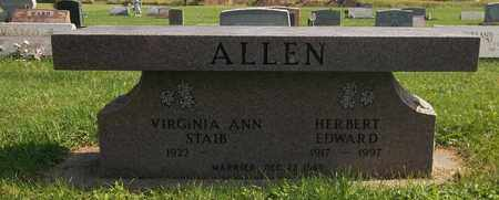 STAIB ALLEN, VIRGINIA ANN - Trumbull County, Ohio   VIRGINIA ANN STAIB ALLEN - Ohio Gravestone Photos