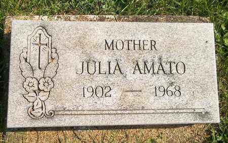 AMATO, JULIA - Trumbull County, Ohio   JULIA AMATO - Ohio Gravestone Photos