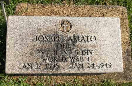 AMATO, JOSEPH - Trumbull County, Ohio | JOSEPH AMATO - Ohio Gravestone Photos