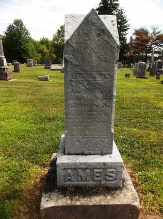 AMES, EZRA - Trumbull County, Ohio   EZRA AMES - Ohio Gravestone Photos
