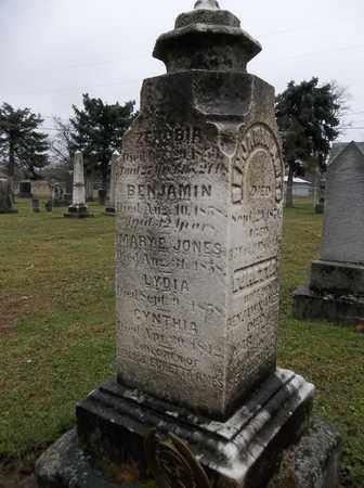 JONES, MARY E. - Trumbull County, Ohio | MARY E. JONES - Ohio Gravestone Photos
