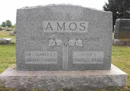 AMOS, CHARLES F., DR. - Trumbull County, Ohio   CHARLES F., DR. AMOS - Ohio Gravestone Photos