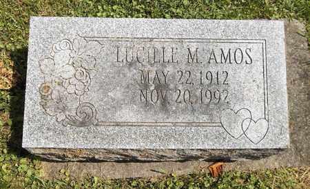 AMOS, LUCILLE M. - Trumbull County, Ohio   LUCILLE M. AMOS - Ohio Gravestone Photos