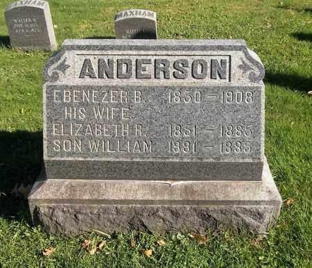 ANDERSON, ELIZABETH R. - Trumbull County, Ohio | ELIZABETH R. ANDERSON - Ohio Gravestone Photos