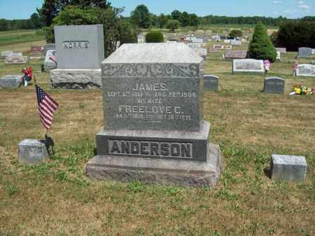 CLARK ANDERSON, FREELOVE A. - Trumbull County, Ohio | FREELOVE A. CLARK ANDERSON - Ohio Gravestone Photos