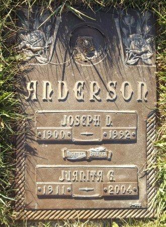 ANDERSON, JUANITA G. - Trumbull County, Ohio   JUANITA G. ANDERSON - Ohio Gravestone Photos