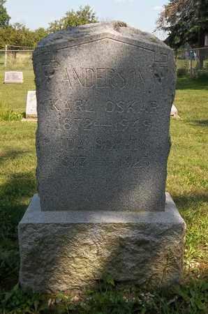 ANDERSON, KARL OSKAR - Trumbull County, Ohio | KARL OSKAR ANDERSON - Ohio Gravestone Photos