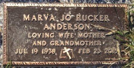 ANDERSON, MARVA JO - Trumbull County, Ohio | MARVA JO ANDERSON - Ohio Gravestone Photos
