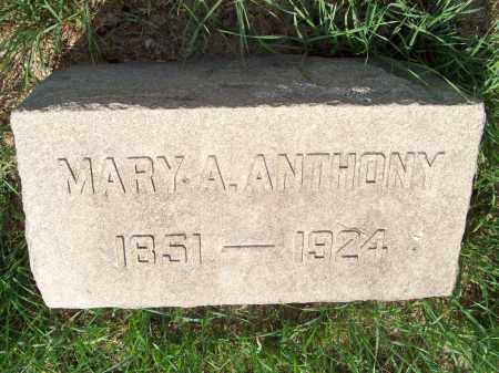 STROUP ANTHONY, MARY ADALINE - Trumbull County, Ohio   MARY ADALINE STROUP ANTHONY - Ohio Gravestone Photos
