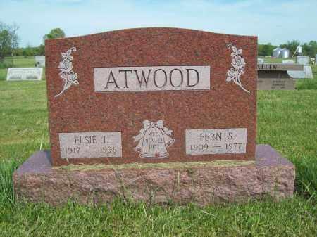 ATWOOD, FERN S. - Trumbull County, Ohio | FERN S. ATWOOD - Ohio Gravestone Photos