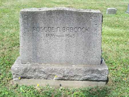 BABCOCK, ROSCOE NELSON - Trumbull County, Ohio | ROSCOE NELSON BABCOCK - Ohio Gravestone Photos