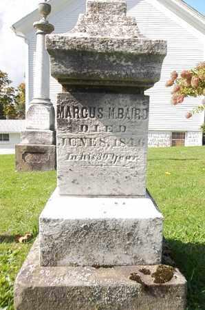 BAIRD, MARCUS M. - Trumbull County, Ohio   MARCUS M. BAIRD - Ohio Gravestone Photos