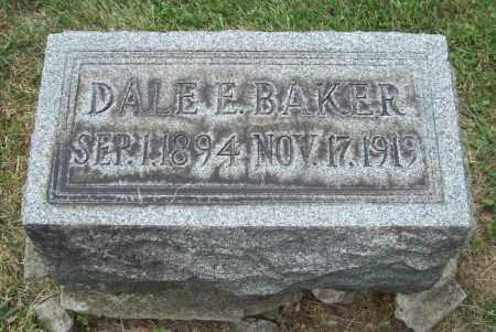 BAKER, DALE EUGENE - Trumbull County, Ohio | DALE EUGENE BAKER - Ohio Gravestone Photos