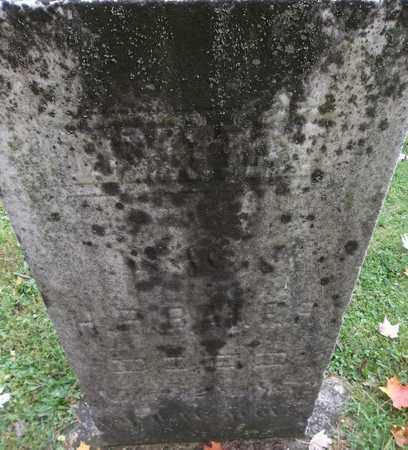 BAKER, EMILY - Trumbull County, Ohio | EMILY BAKER - Ohio Gravestone Photos