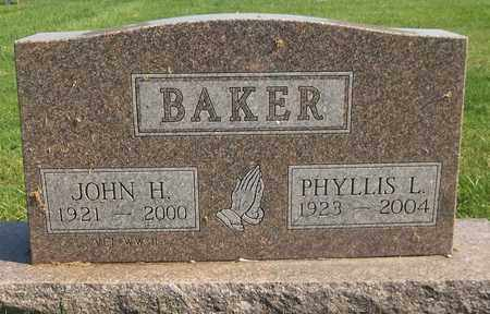 BAKER, JOHN H. - Trumbull County, Ohio | JOHN H. BAKER - Ohio Gravestone Photos