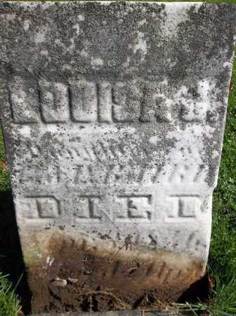 BAKER, LOUISA J. - Trumbull County, Ohio | LOUISA J. BAKER - Ohio Gravestone Photos