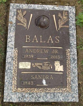 BALAS, ANDREW, JR. - Trumbull County, Ohio   ANDREW, JR. BALAS - Ohio Gravestone Photos