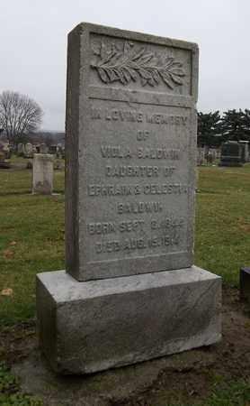 BALDWIN, VIOLA - Trumbull County, Ohio   VIOLA BALDWIN - Ohio Gravestone Photos