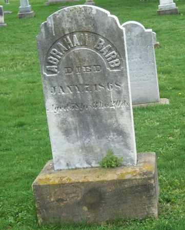 BARB, ABRAHAM - Trumbull County, Ohio   ABRAHAM BARB - Ohio Gravestone Photos