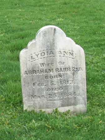 BARB, LYDIA ANN - Trumbull County, Ohio   LYDIA ANN BARB - Ohio Gravestone Photos