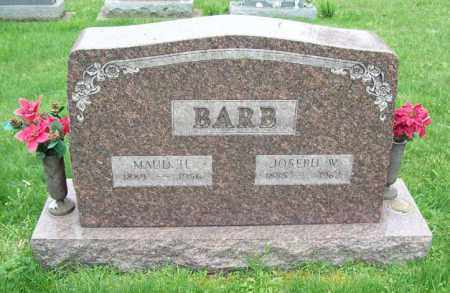 BARB, JOSEPH W. - Trumbull County, Ohio   JOSEPH W. BARB - Ohio Gravestone Photos
