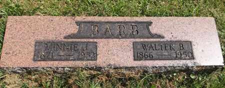 BARB, MINNIE J. - Trumbull County, Ohio | MINNIE J. BARB - Ohio Gravestone Photos